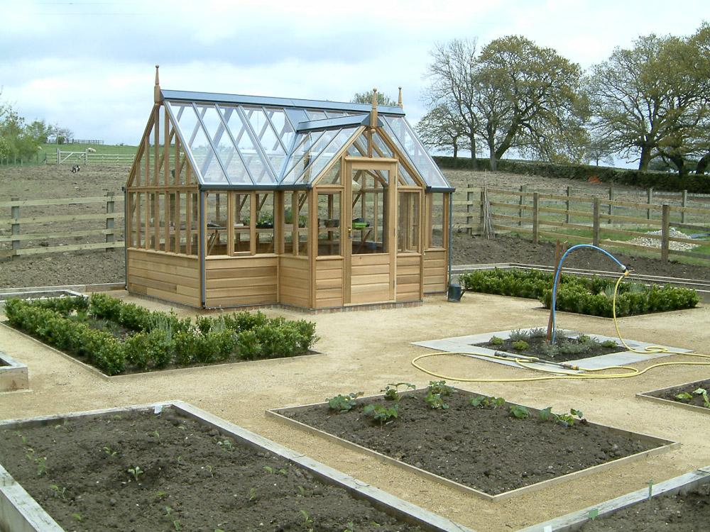 Large Vegetable Garden - Olive Garden Design and Landscaping