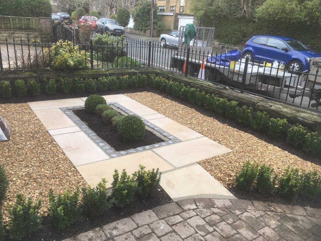 Formal Front Garden - Olive Garden Design and Landscaping