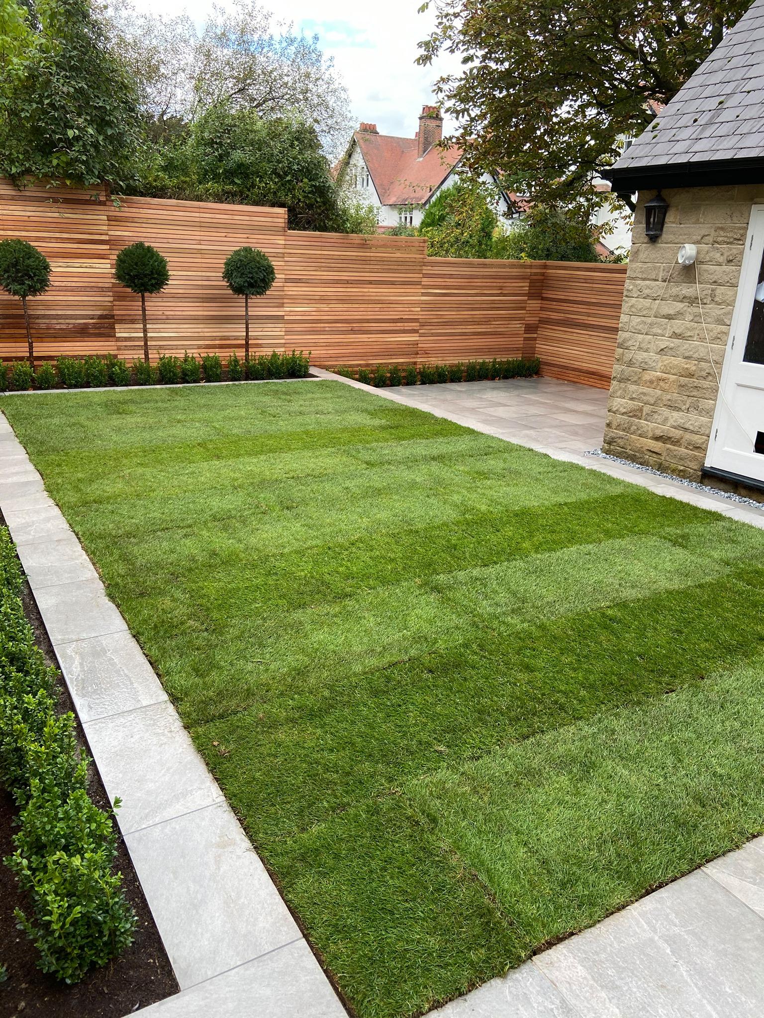 Contemporary Garden Harrogate - Olive Garden Design and ...